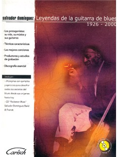 Leyendas de la Guitarra de Blues 1926-2000 CD y Libro | Guitar