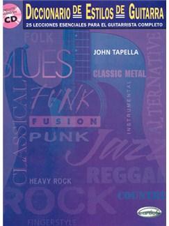 Diccionario de Estilos de Guitarra CD y Libro | Guitar