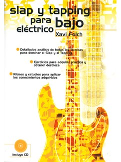Slap y Tapping para Bajo Eléctrico CD y Libro | Bass Guitar