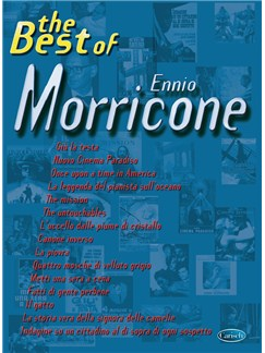 Ennio Morricone: The Best Of (PVG) Livre | Piano, Chant et Guitare