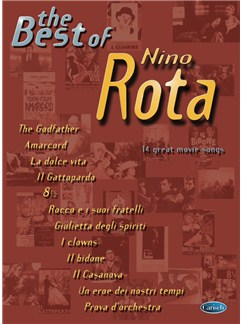 Nino Rota: The Best Of (Piano) Books | Piano