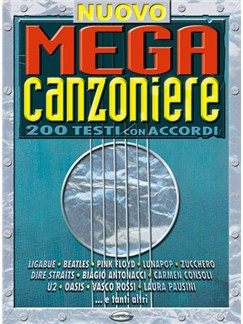 Nuovo Megacanzoniere Books | Lyrics & Chords