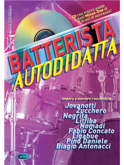 Batterista Autodidatta (Book/CD) Books and CDs | Drums
