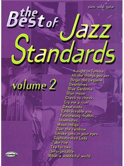 The Best Of Jazz Standards: Volume 2 Books | Piano, Vocal & Guitar