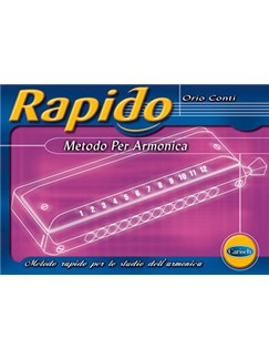 Rapido - Metodo per Armonica Books | Harmonica