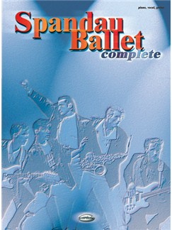 Spandau Ballet: Complete Books | Piano, Vocal & Guitar