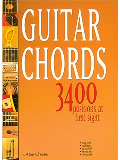 Guitar Chords - 3400 Positions at First Sight Libro | Guitarra