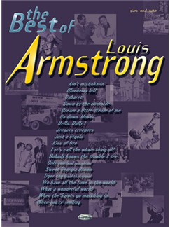 The Best of Louis Armstrong Livre | Piano, Chant et Guitare