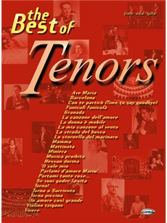 The Best of Tenors Books | Piano, Vocal & Guitar