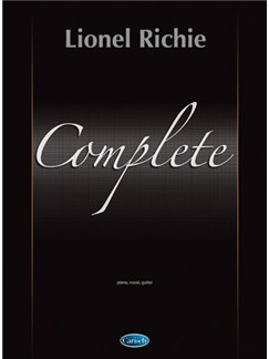 Lionel Richie: Complete Books | Piano, Vocal & Guitar