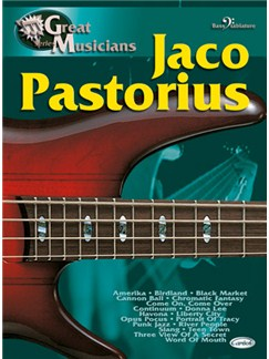 Jaco Pastorius: Great Musicians Series Books | Bass Guitar Tab