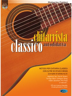 Chitarrista Classico Autodidatta Books and CDs | Guitar