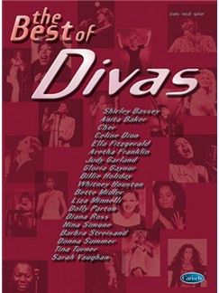 The Best of Divas Books | Piano, Vocal & Guitar
