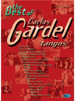 The Best Of Carlos Gardel - Tangos Books | Piano, Vocal & Guitar