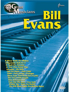 Bill Evans: Great Musicians Series Livre | Piano