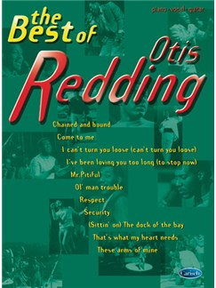 The Best of Otis Redding Books | Piano, Vocal & Guitar