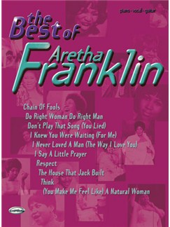 The Best of Aretha Franklin Books | Piano, Vocal & Guitar