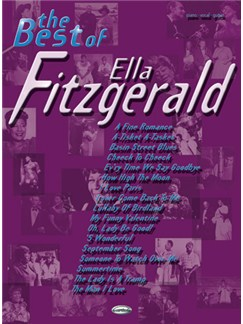 The Best of Ella Fitzgerald Books | Piano, Vocal & Guitar