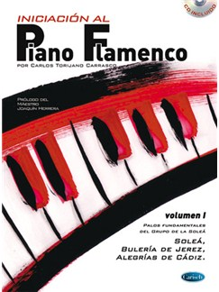 Iniciación Al Piano Flamenco, Volumen I CD y Libro | Piano