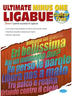 Ligabue: Ultimate Minus One Books and CDs | Guitar Tab
