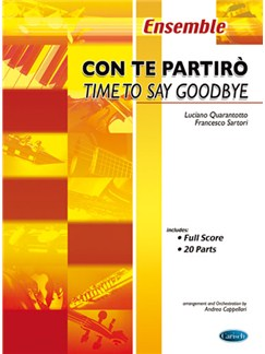 Andrea Bocelli: Con Te Partirò (Time To Say Goodbye) Books | Ensemble