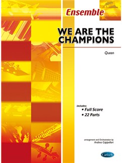 Queen: We Are The Champions Bog | Ensemble