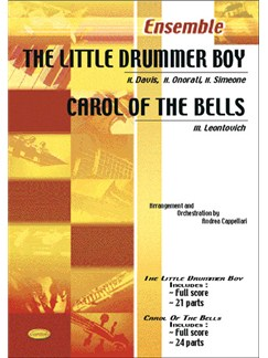 The Little Drummer Boy - Carol of The Bells Books | Ensemble