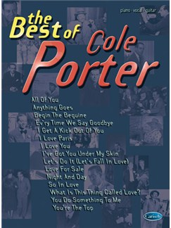 The Best of Cole Porter Books | Piano, Vocal & Guitar