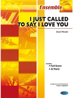 Stevie Wonder: I Just Called To Say I Love You Books | Ensemble