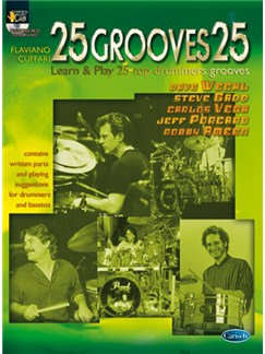 25 Grooves 25 Books and CDs | Drums