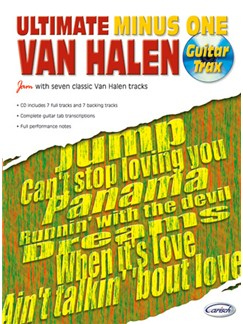Van Halen: Ultimate Minus One Books and CDs | Guitar Tab