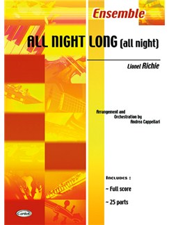 Lionel Richie: All Night Long (All Night) Books | Ensemble