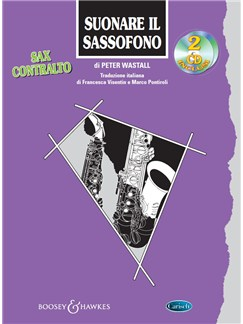 Suonare Il Sassofono: Sax Contralto (Book/2 CDs) Books and CDs | Alto Saxophone