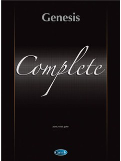 Genesis: Complete Books | Piano, Vocal & Guitar