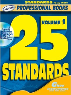 25 Standards, Volume 1 (Gkey Instr.) Books and CDs | C Instruments