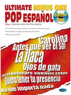 Ultimate Minus One, Pop Español Books and CDs | Guitar Tab