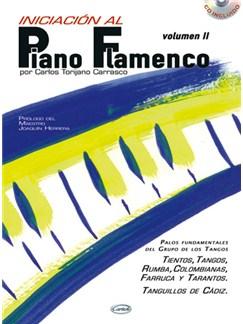 Iniciación al Piano Flamenco, Volumen II CD y Libro | Piano