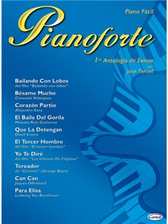 Pianoforte, 1ra Antología de Éxitos Books | Piano