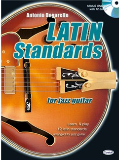Latin Standard for Jazz Guitar Books and CDs | Guitar