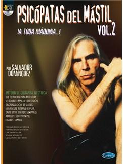 Psicópatas del Mástil Volume 2 (¡a Toda Máquina …!) CD y Libro | Guitar