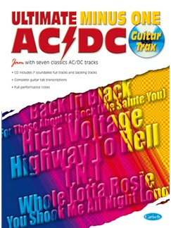 AC/DC: Ultimate Minus One Books and CDs | Guitar Tab