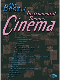 The Best of Cinema, Instrumental Themes Books | Piano, Vocal & Guitar