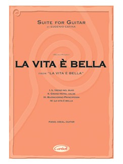 Nicola Piovani: La Vita è Bella - Suite for Guitar by Eugenio Catina Books | Guitar
