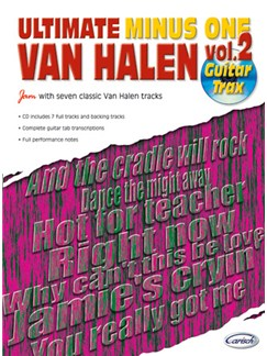 Van Halen: Ultimate Minus One, Volume 2 Books and CDs | Guitar Tab
