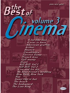 The Best of Cinema - Volume 3 Books | Piano, Vocal & Guitar