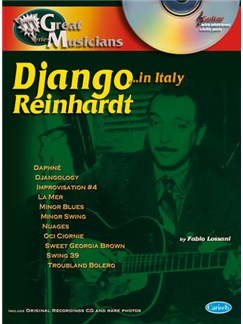 Django Reinhardt: Great Musicians Series (Django in Rome) Books and CDs | Guitar Tab