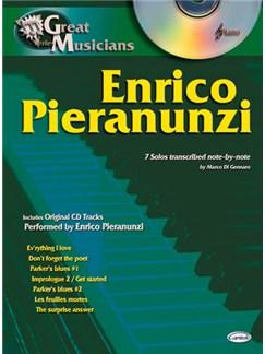 Enrico Pieranunzi: Great Musicians Series Books and CDs | Piano