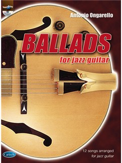 Ballads for Jazz Guitar Bog og CD | Guitar
