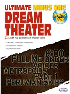 Dream Theater: Ultimate Minus One (Drum Trax) Books and CDs | Drums