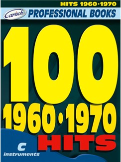 100 Hits 1960-1970 Buch | Instrumente in C